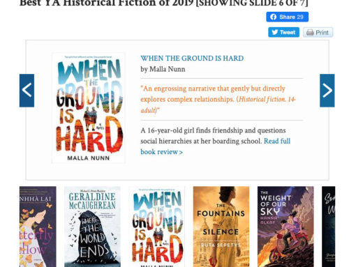 Kirkus – Best YA Historical Fiction