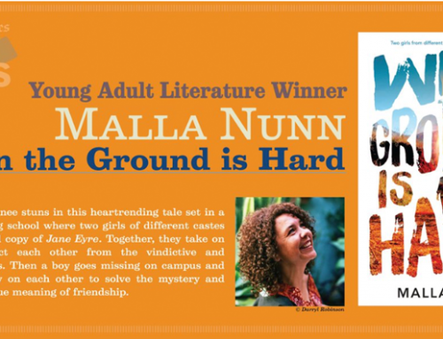 LA Times Book Prize for When The Ground Is Hard
