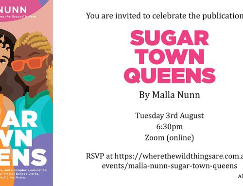 Sugar Town Queens online launch – You're invited!